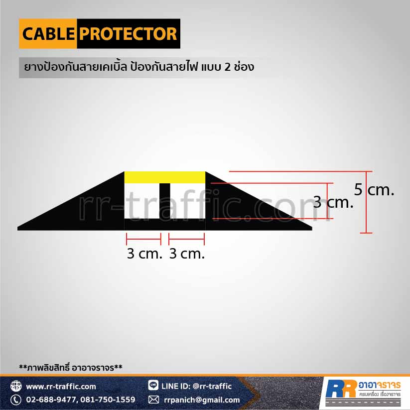 CABLE PROTECTOR 2-4