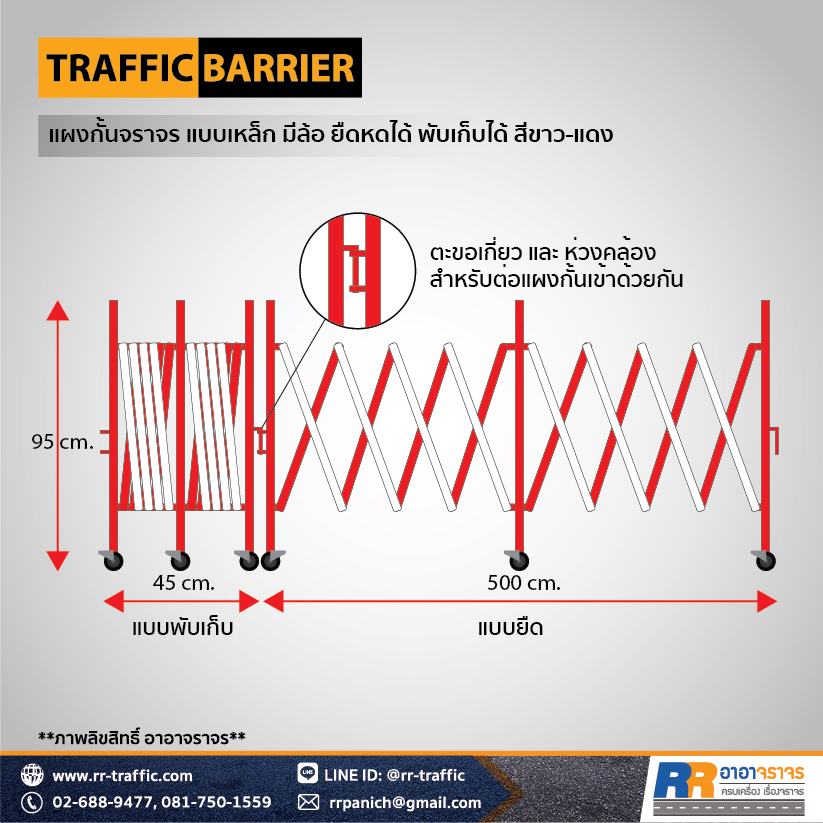 TRAFFIC BARRIER 3-2